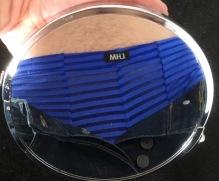 Blue mirror image