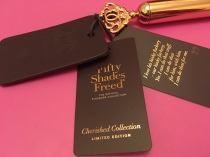 Fifty shades freed Cherished Collection paddle
